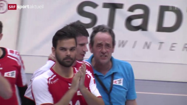 Video «Handball: Yellow Cup, Schweiz - Portugal» abspielen