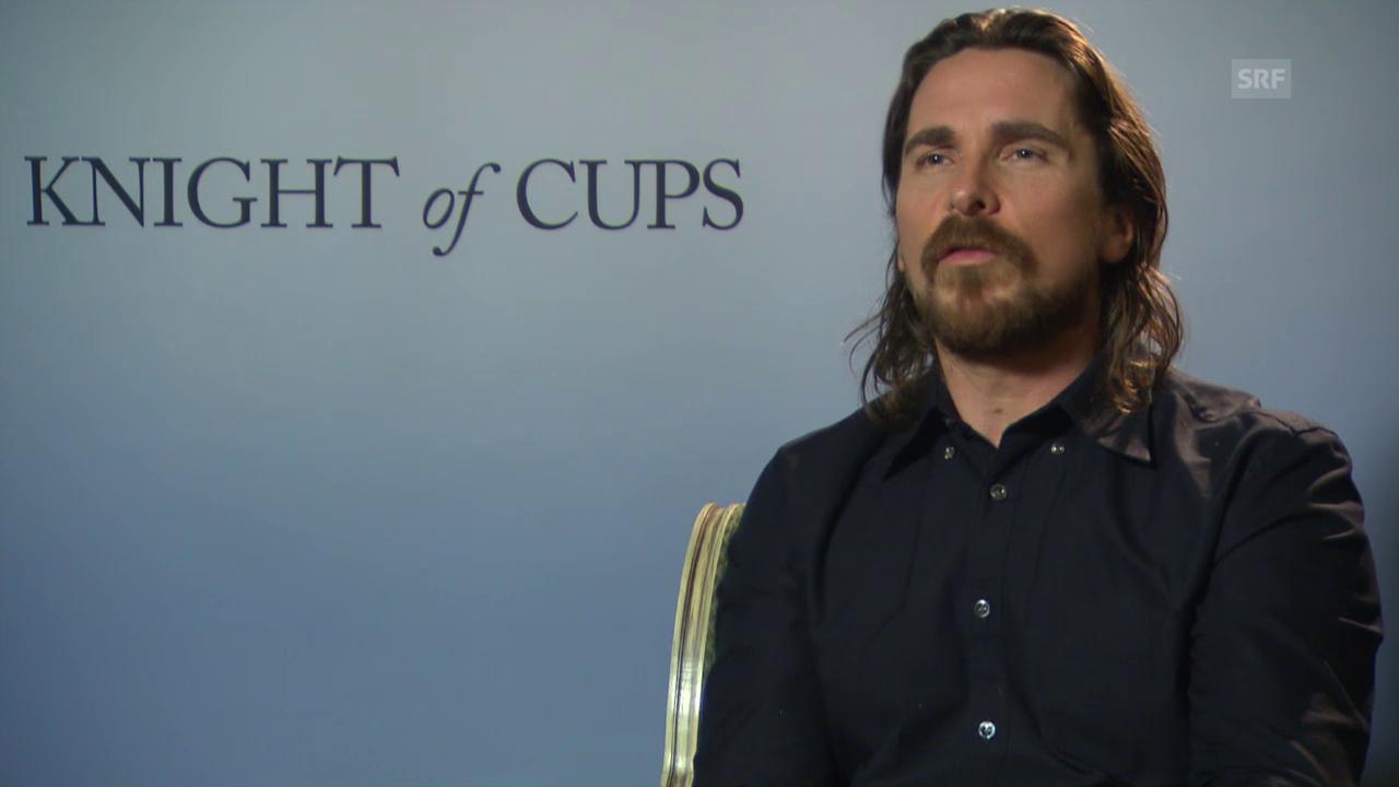 3 Fragen an Christian Bale