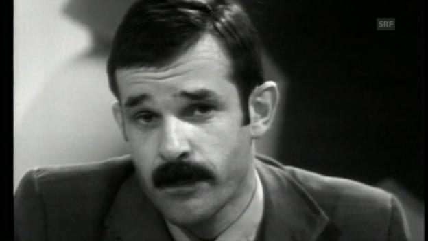 Video «Mani Matter singt «Dr Eskimo» (26.12.1973)» abspielen