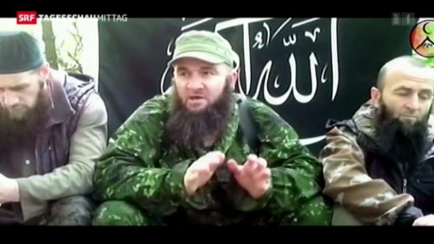 Video «Terrorist ruft zu Anschlägen auf Sotschi auf» abspielen