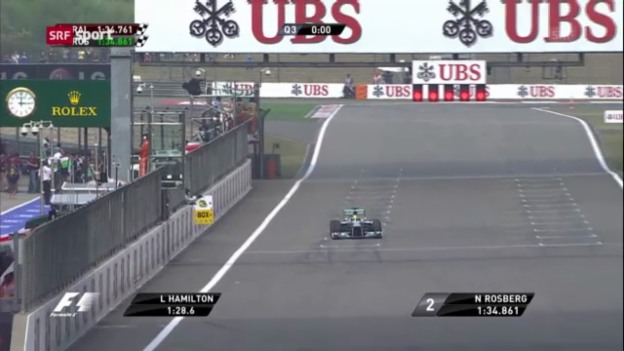 Video «Qualifying GP China («sportaktuell»)» abspielen