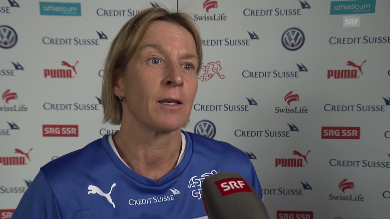Nati-Trainerin Martina Voss-Tecklenburg über das Olympia-Quali-Turnier in Rotterdam