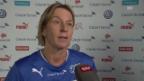 Video «Nati-Trainerin Martina Voss-Tecklenburg über das Olympia-Quali-Turnier in Rotterdam» abspielen