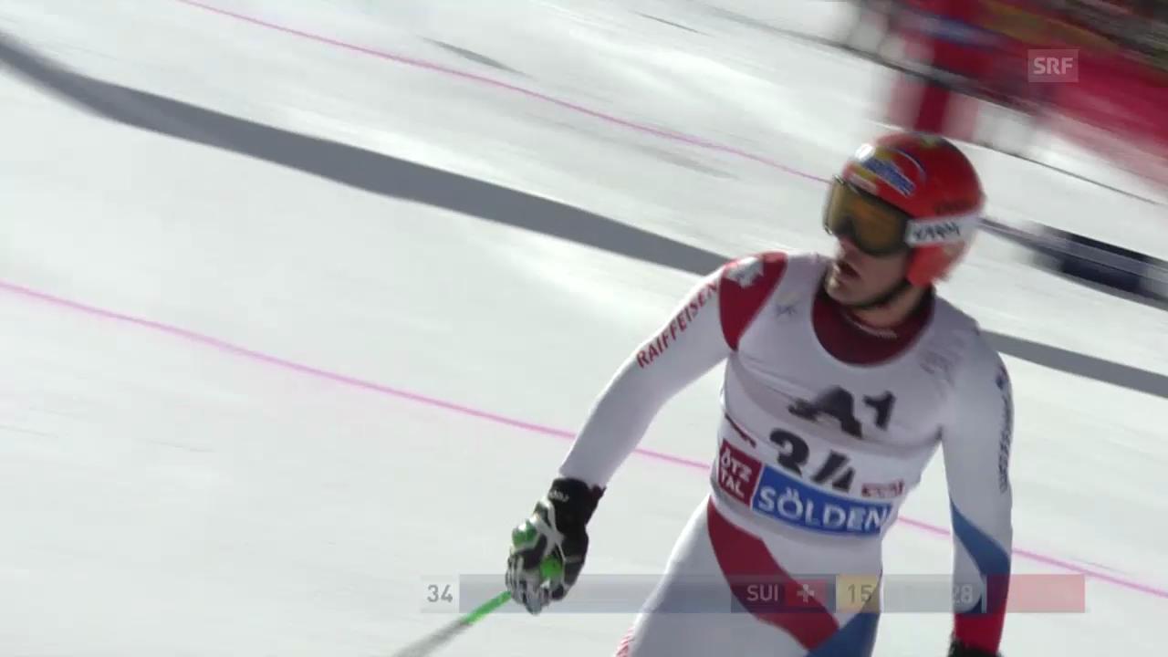 Ski alpin: 1. Lauf von Thomas Tumler («sportlive»)