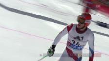 Video «Ski alpin: 1. Lauf von Thomas Tumler («sportlive»)» abspielen