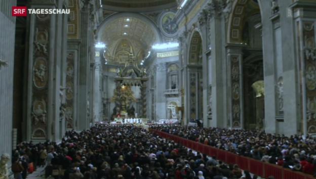 Video «Mitternachtsmesse in Rom» abspielen