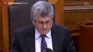 Video «Parlament im Streit um Lebensmittel» abspielen