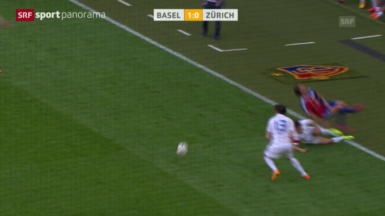 Fussball: Super League, Zusammenfassung Basel - Zürich