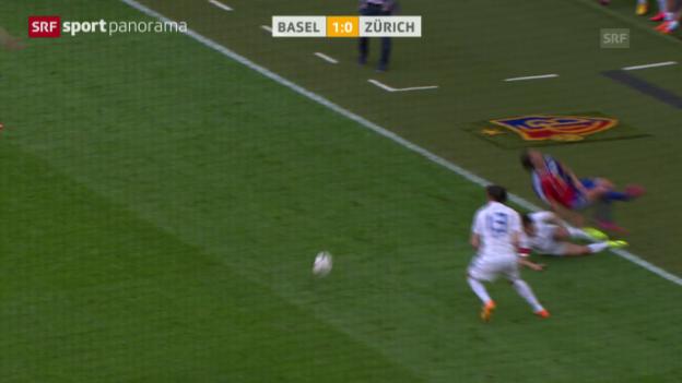 Video «Fussball: Super League, Zusammenfassung Basel - Zürich» abspielen