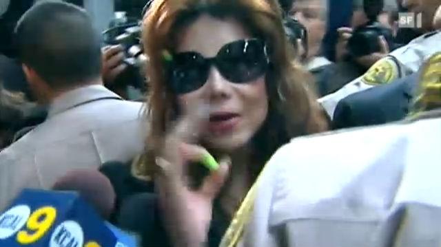 Michael Jacksons Familie freut sich über den Ausgang des Prozesses.