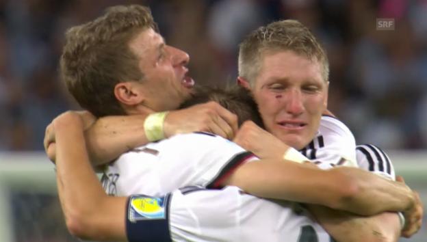 Video «Rückblick auf den deutschen WM-Triumph» abspielen
