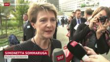Video «Sommaruga: Guter EU-Entscheid, aber ...» abspielen