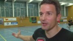 Video «Paddy Kälin: Im Einsatz als Handballtrainer» abspielen