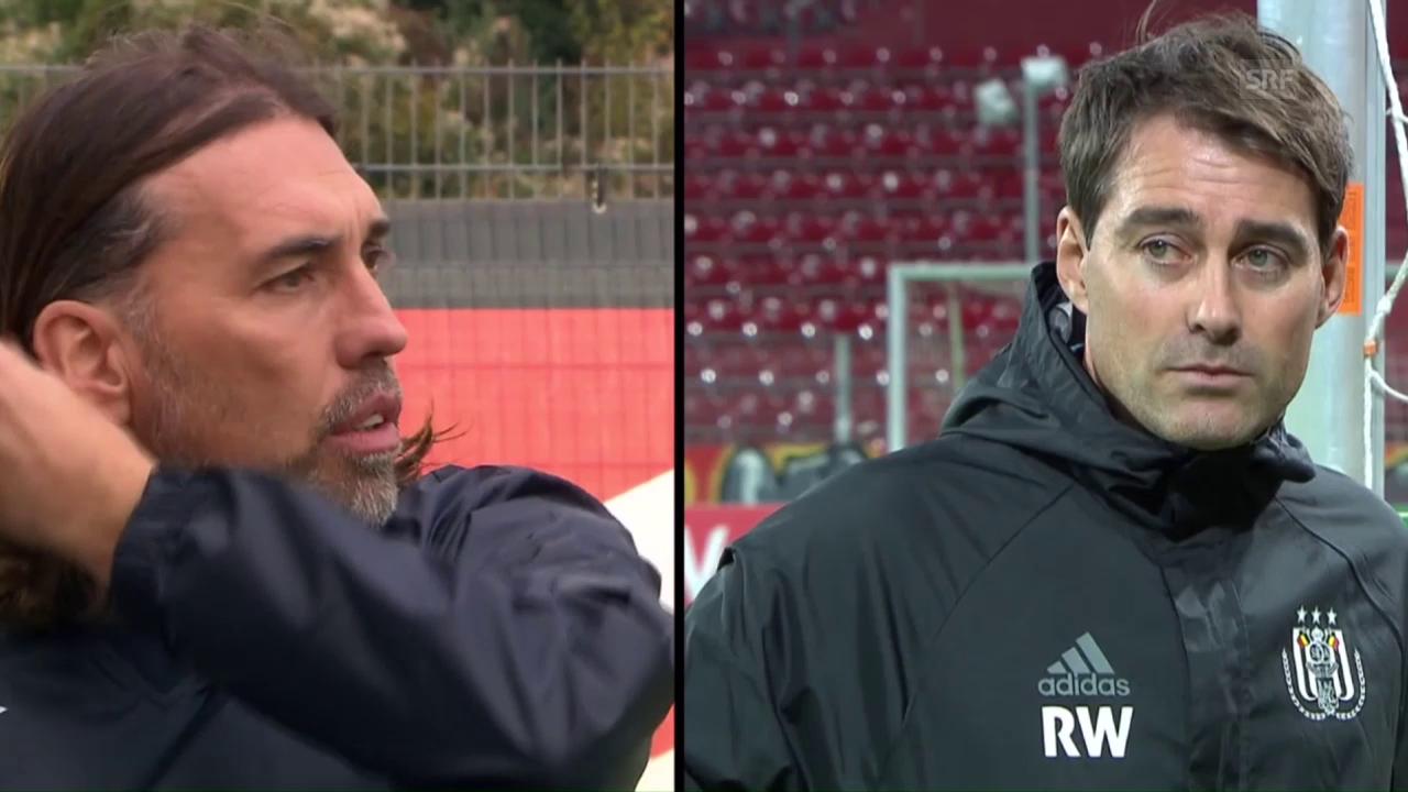 Duell zweier Schweizer Trainer (EVS)