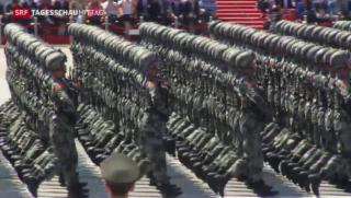 Video «China baut Truppen ab» abspielen