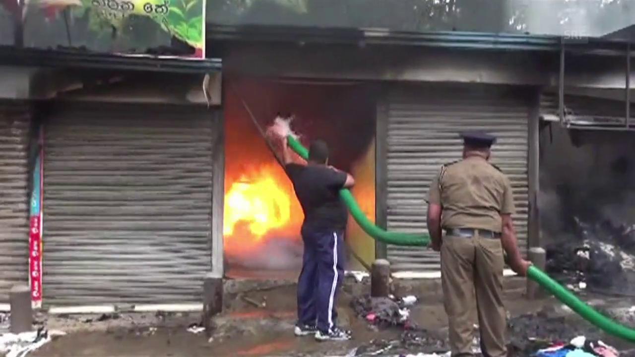 Unruhen in Sri Lanka (unkommentiert)