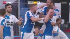 Video «Fussball: Super League, Basel - GC» abspielen