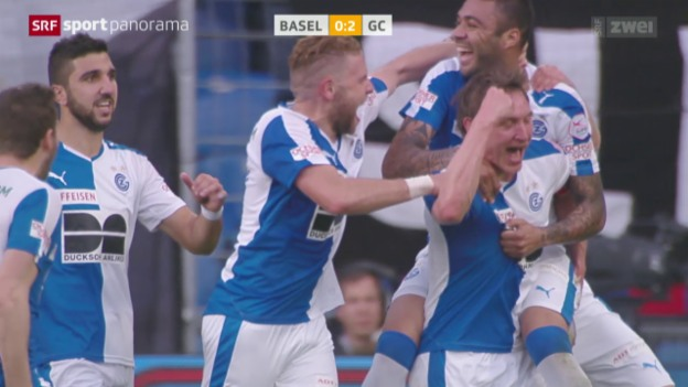 Video «Fussball: Super League, Basel - GC» abspielen