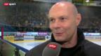Video «Eishockey: Biel-Assistent Dino Stecher» abspielen