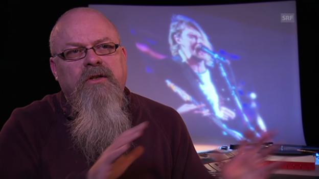 Video «Musikjournalist Hanspeter Düsi Künzler über Kurt Kobain» abspielen