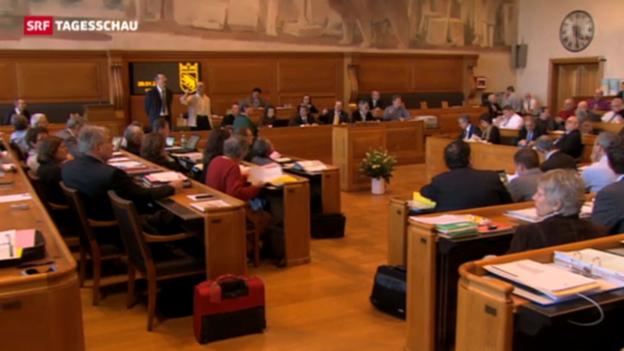 Video «Berner Kantonsparlament für Jura-Abstimmungen» abspielen