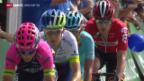Video «Rad: Tour de Suisse, 2. Etappe, Risch-Rotkreuz» abspielen