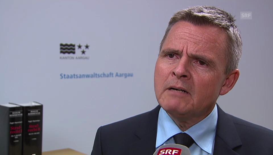 Daniel von Däniken, Oberstaatsanwaltschaft AG