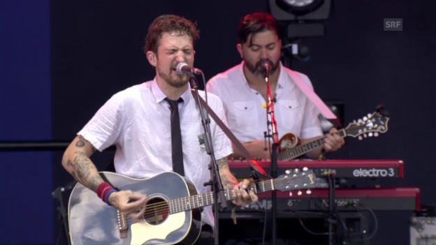 Video «Frank Turner & The Sleeping Souls - «St. Christopher Is Coming Home»» abspielen
