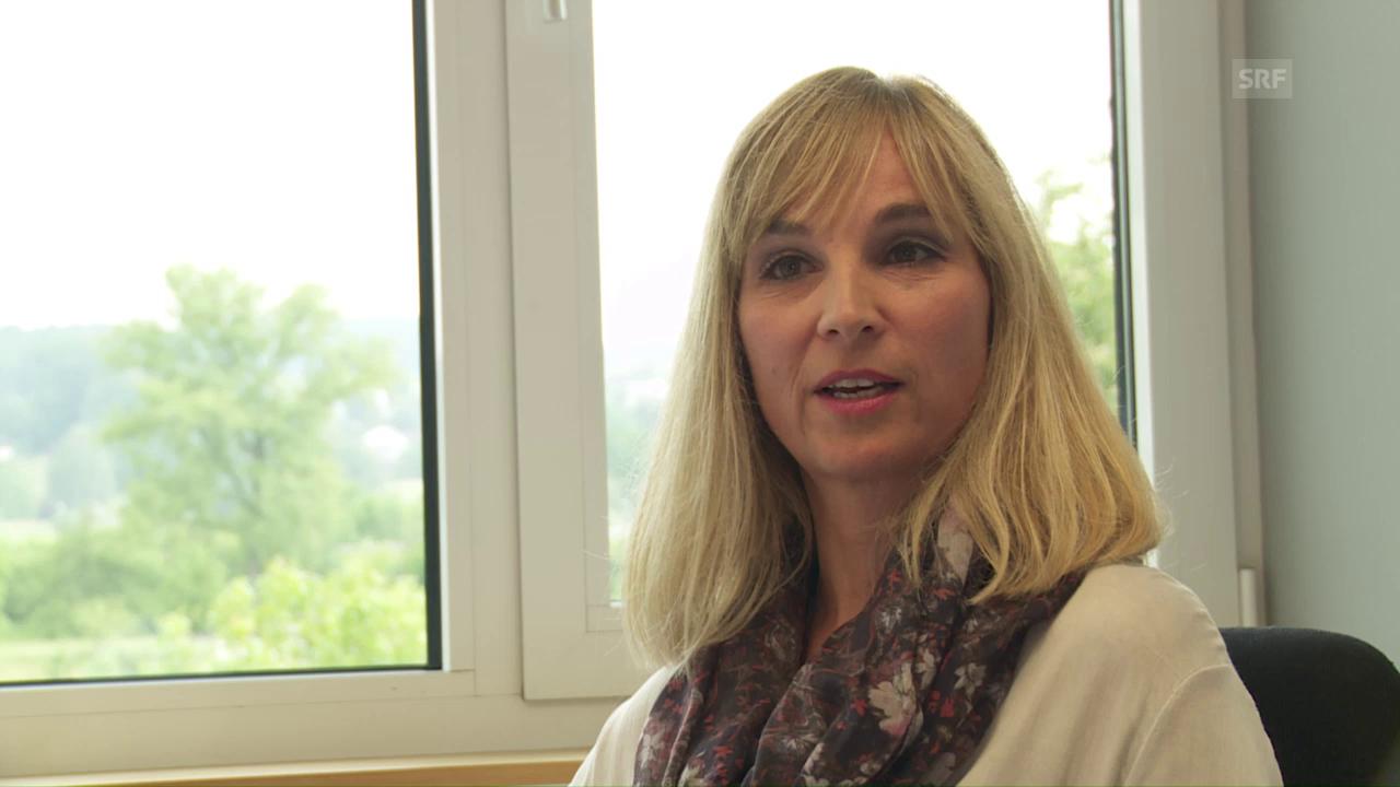 Judith Jerez arbeitet für den Sozialdienst der Rega
