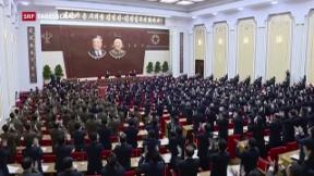Video «Nordkorea verzichtet auf Atom- und Raketentests» abspielen