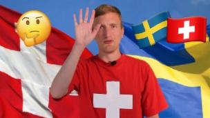Video «Schweiz und Schweden: Bitte nicht verwechseln!» abspielen