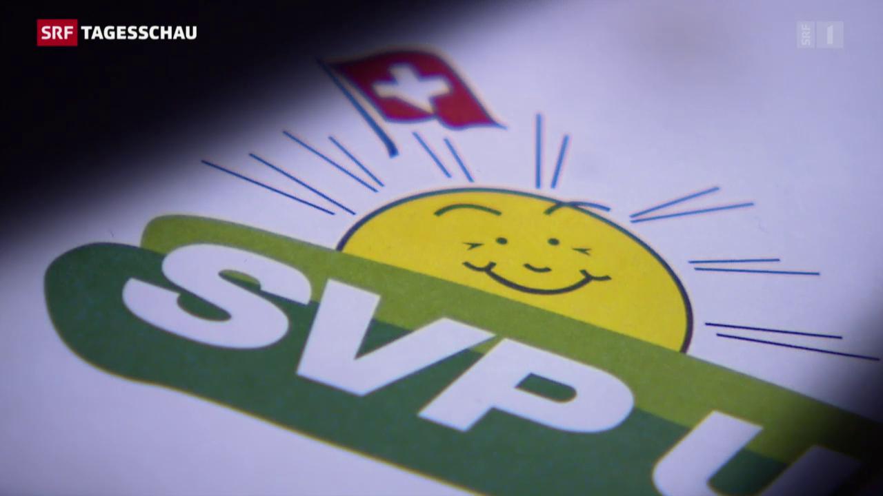 Schweiz - Knatsch bei der SVP – Die Partei im Umbruch? - News - SRF