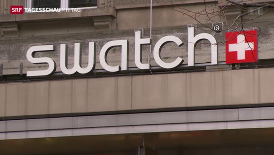 Swatch mit Rekordumsatz