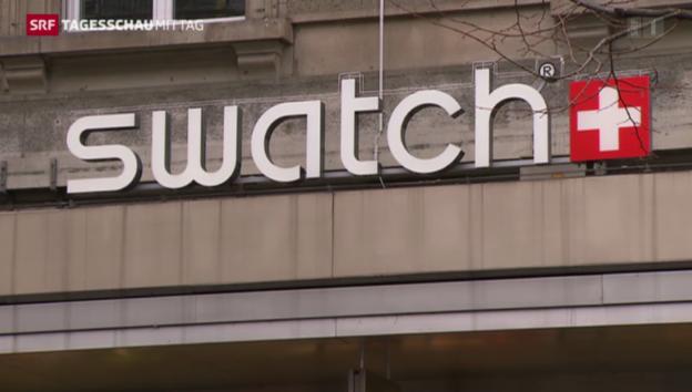 Video «Swatch mit Rekordumsatz» abspielen