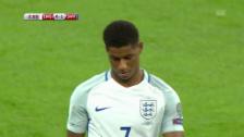 Video «Rashfords Fehler führt zum 0:1» abspielen