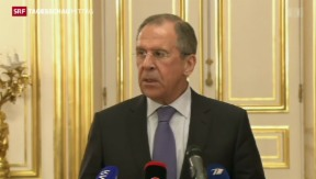 Video «Erfolglose Gespräche zwischen Russland und der USA» abspielen