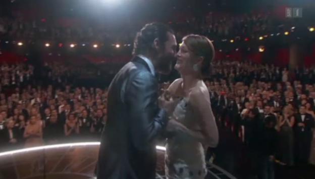 Video «Die Höhepunkte der Oscar-Show» abspielen