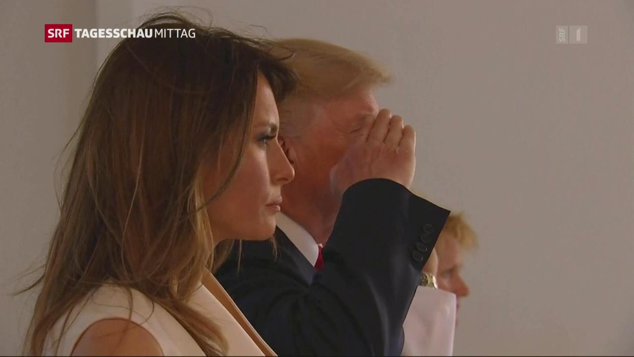 Trumps Zwischenlandung in Hawaii