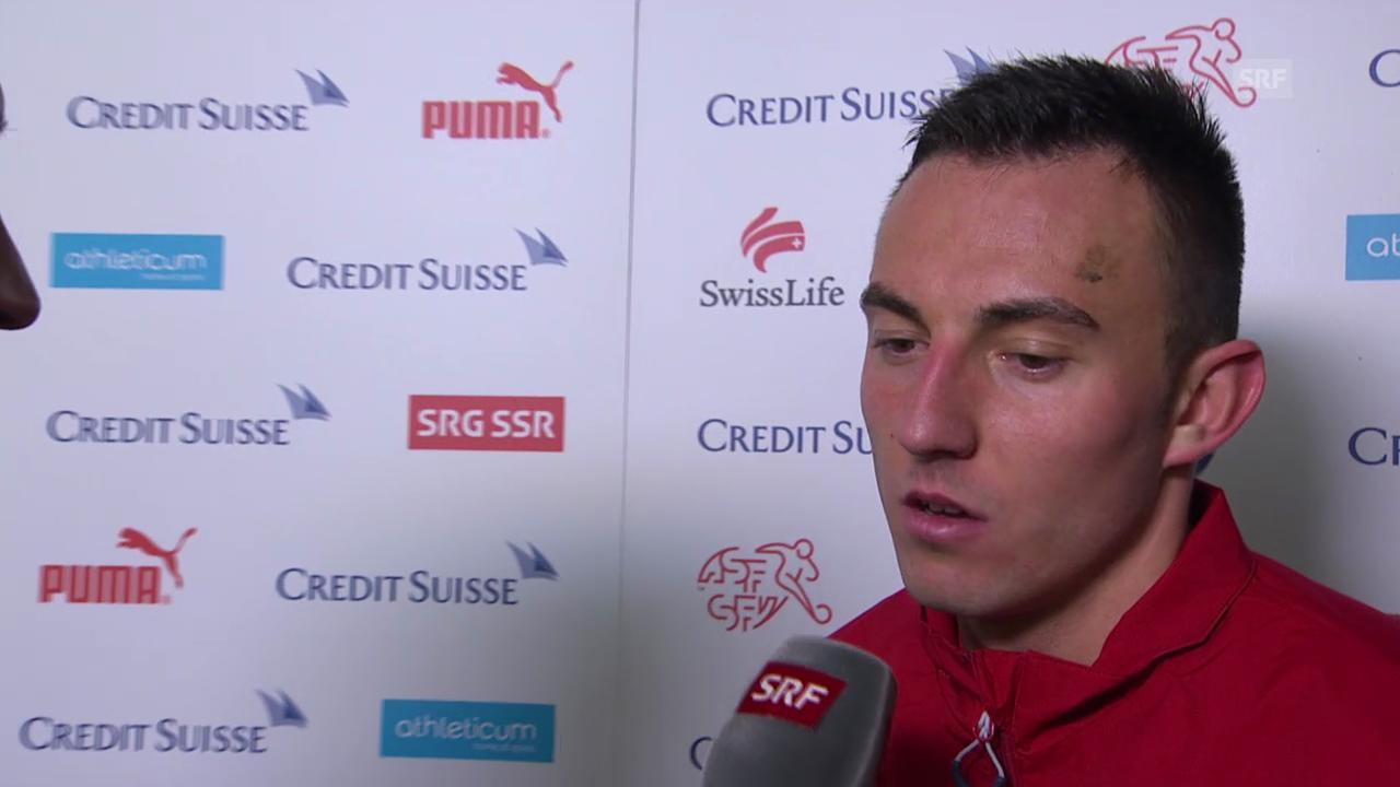 Fussball: Josip Drmic im Interview