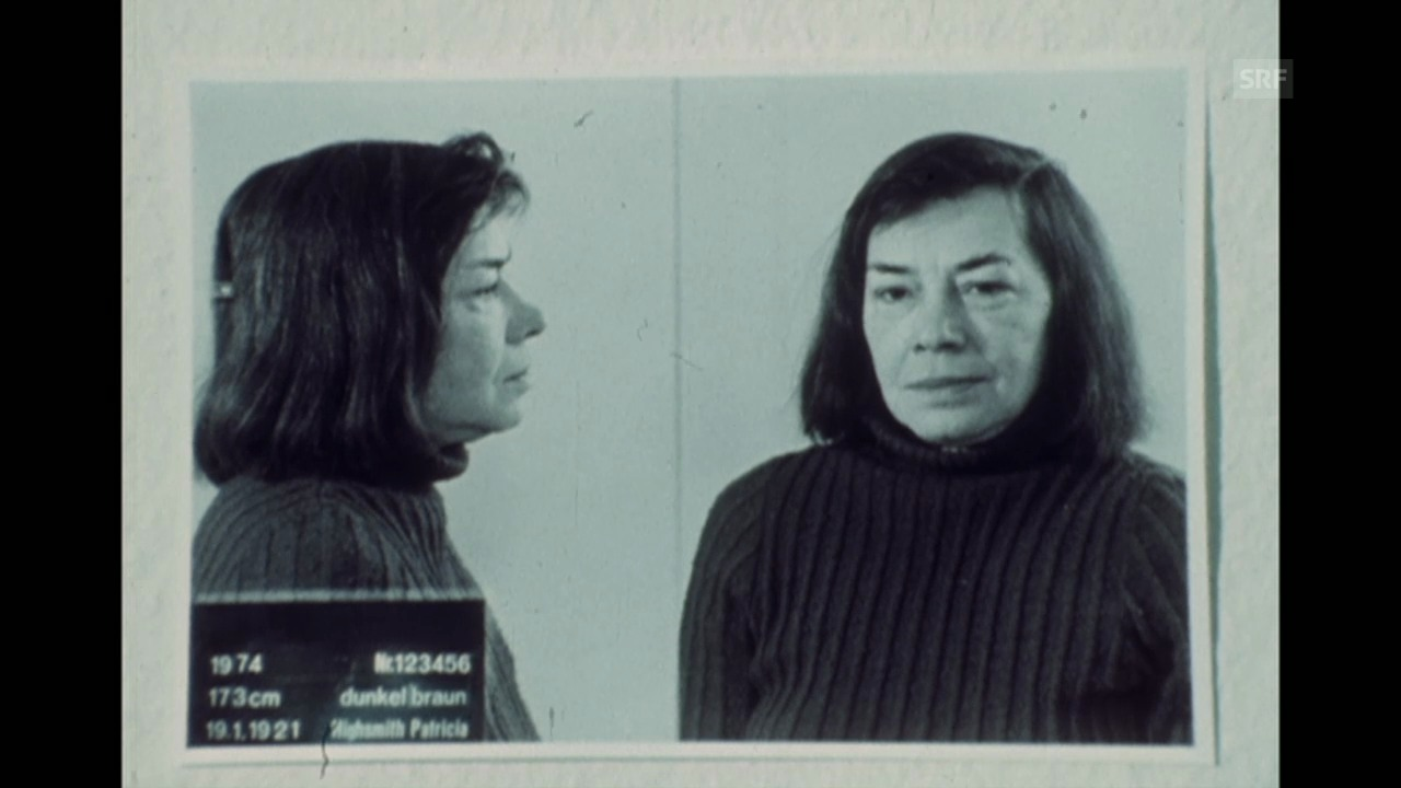 Inszeniertes Interview Patricia Highsmith am 25.8.1974