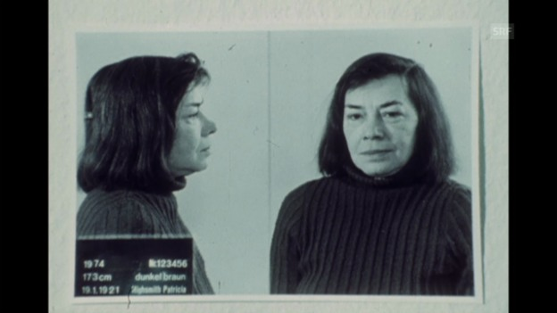 Video «Inszeniertes Interview Patricia Highsmith am 25.8.1974» abspielen