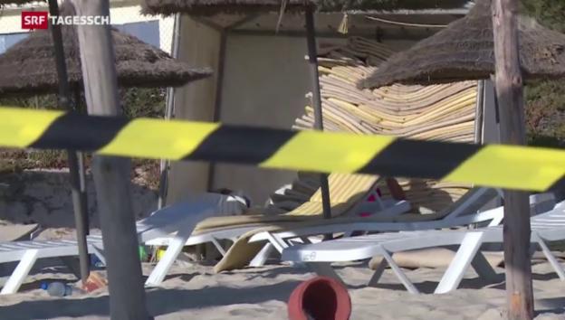 Video «Reaktionen nach Anschlag in Tunesien» abspielen
