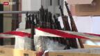 Video «Hunderte von Waffen konfisziert» abspielen
