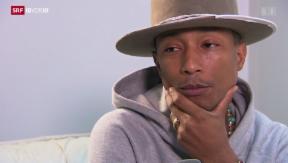 Video «Pharrell Williams: «Happy» am nasskalten Frauenfelder» abspielen