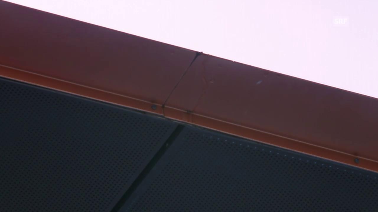 Tennis: Australian Open, Wawrinka-Garcia-Lopez, tropfendes Dach