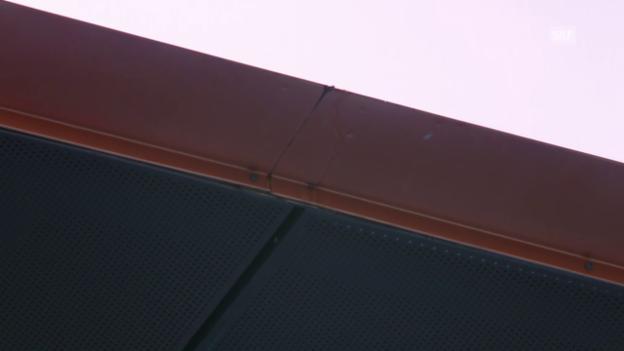 Video «Tennis: Australian Open, Wawrinka-Garcia-Lopez, tropfendes Dach» abspielen