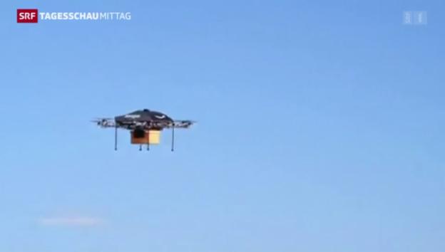 Video «Bald kommt das «Päckli» mit der Drohne» abspielen
