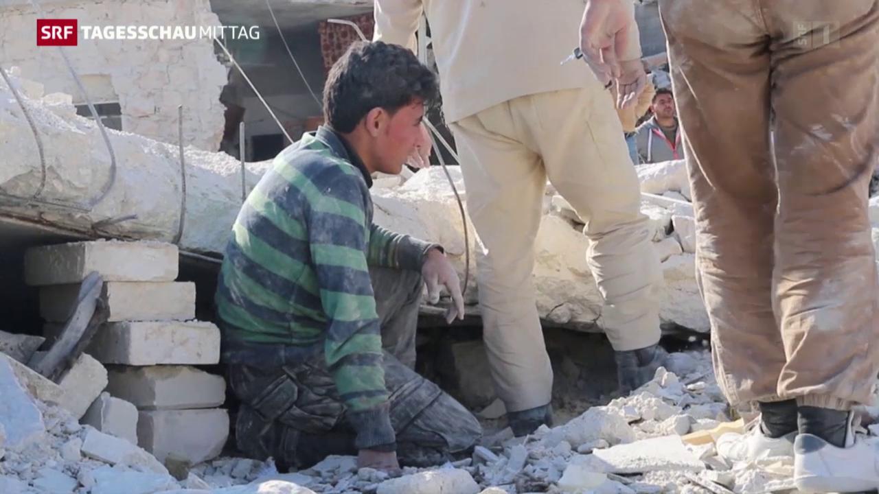 Syrien-Gespräche suspendiert
