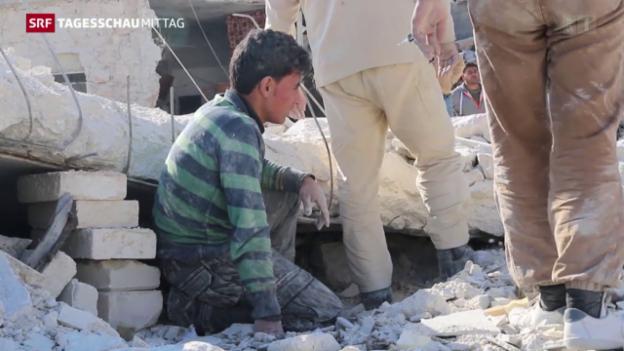 Video «Syrien-Gespräche suspendiert» abspielen