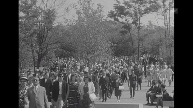 Video «Diesen Sommer an der Expo – Rückblick, gereimt (16.12.1964)» abspielen